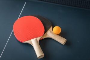フリー素材 卓球