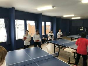 女子イベント卓球